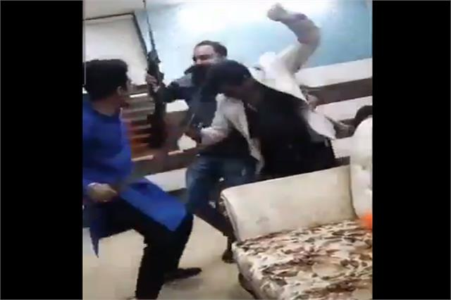 youths dance fiercely with b day party