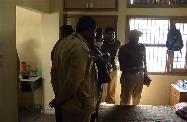 haryana news girl committed suicide in hostel