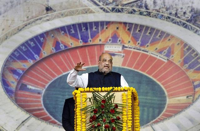 why was name of stadium named narendra modi shah gave the reason