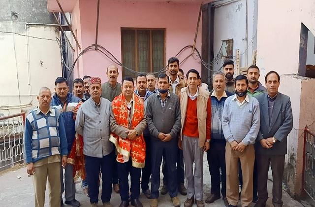 temple trust employees union election mahendra singh becomes president