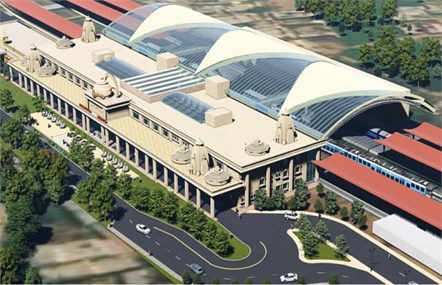 ayodhya railway station will be high tech along with construction of ram temple