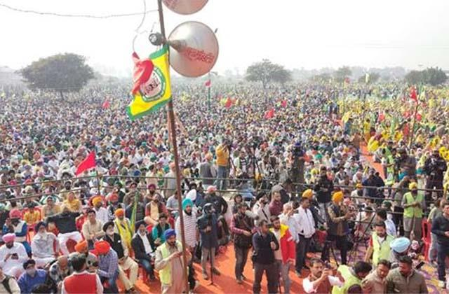 farmers leaders made big announcements in rally of farmers