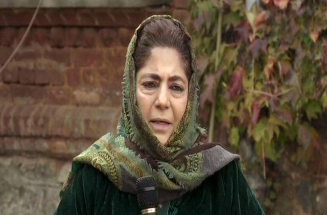 mehbooba appeal pakistan for talk