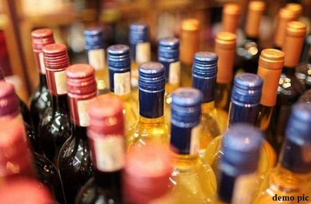 large amount of alcohol seized from purnia