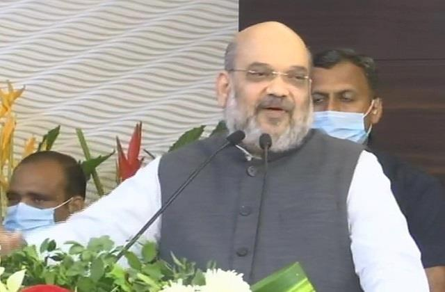 shah targeted the shiv sena said nor broke the promise