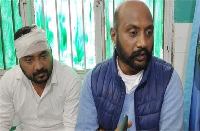 deadly assault on aap leaders during elections