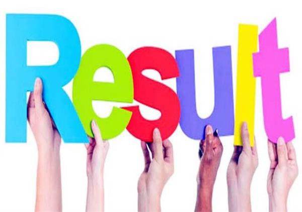 has main exam results declared 50 candidates passed