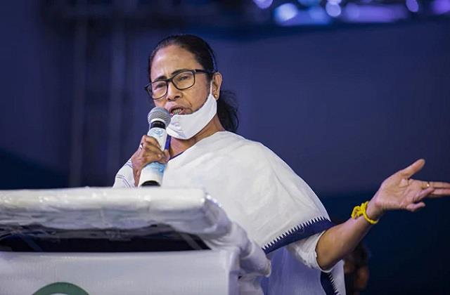 mamta raised questions on election commission said bjp did what it said
