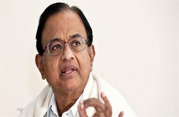 chidambaram said saying pm kerala can go to assam but not meet farmers