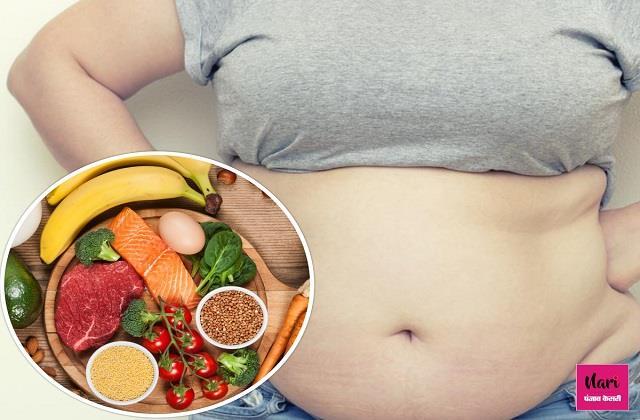 मोटी तोंद घटाने के लिए Balanced Diet की लें मदद, 100 % दिखेगा फर्क