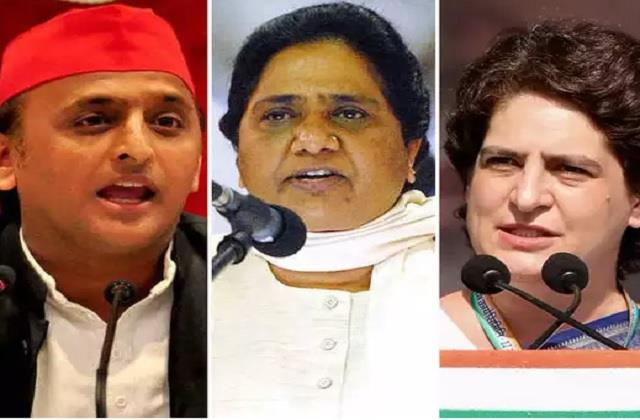 mayawati lashed out at bjp congress and sp said these leaders going