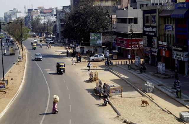 shops remain open despite bharat bandh support