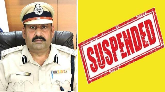 ips officer suspended in case of misbehavior with minister s brother
