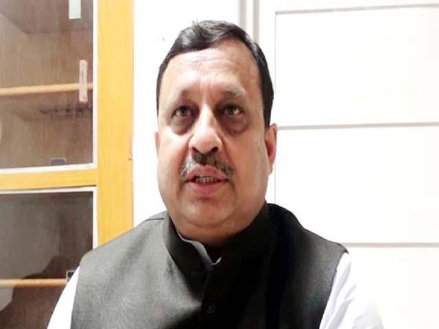bjp leader target on congress