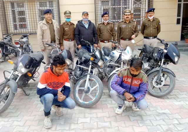 bike thief gang busted in paonta sahib