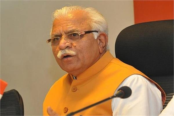 due to opposition from farmers khattar canceled visit to anvli
