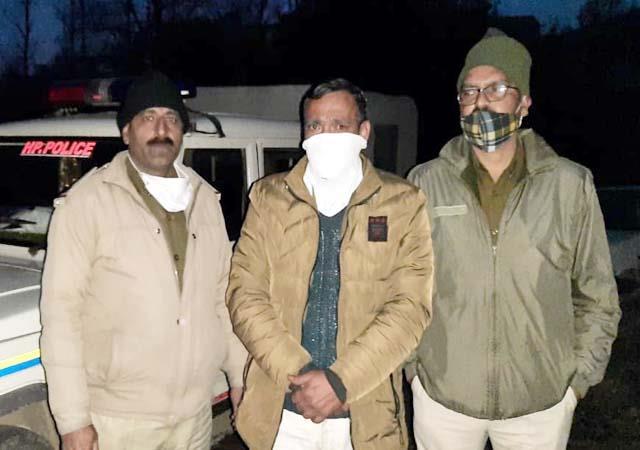 smuggler arrested with hashish