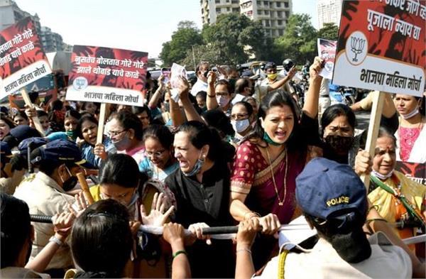 pune tittock star suicide bjp adamant on minister sanjay rathod s resignation