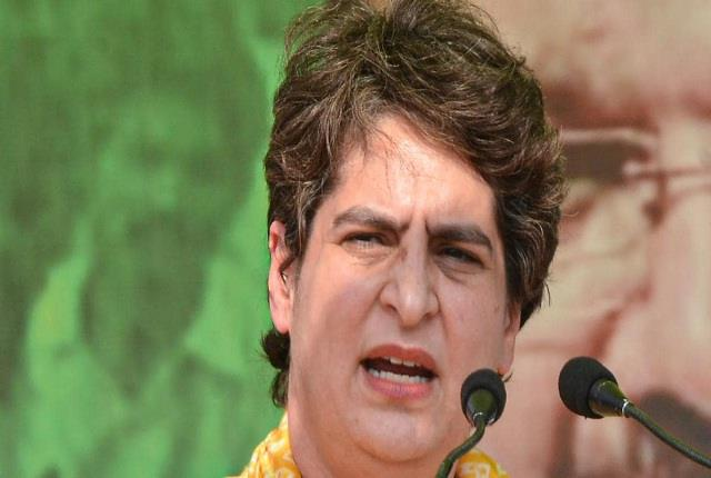 priyanka gandhi targets central government over rising fuel prices