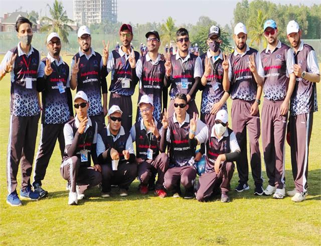 mandi vision impaired cricket team bangalore depart