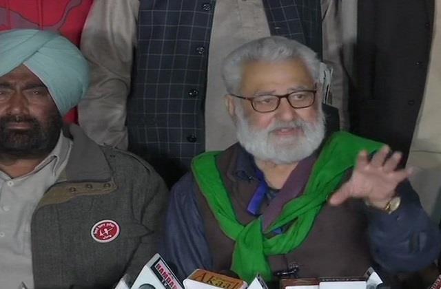 sanyukt kisan morcha said we are ready for talks
