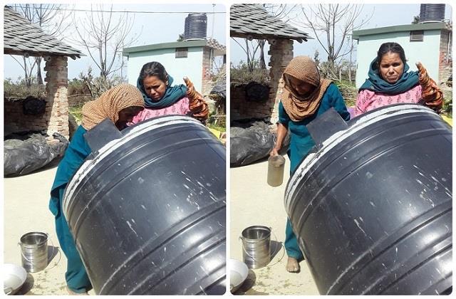 fatehpur water shortage in bhabroli fury among people
