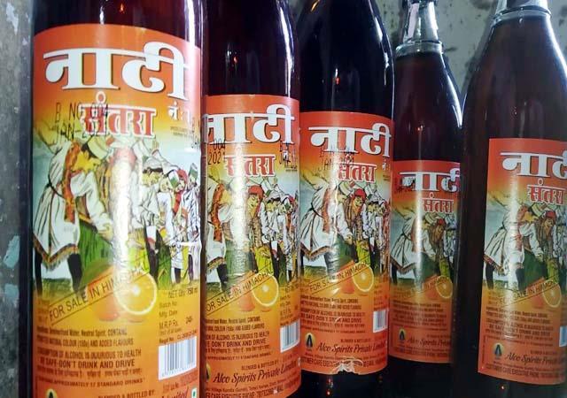 himachali nati will be seen on the bottle of liquor