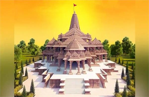 ram temple construction home to door donation campaign stopped