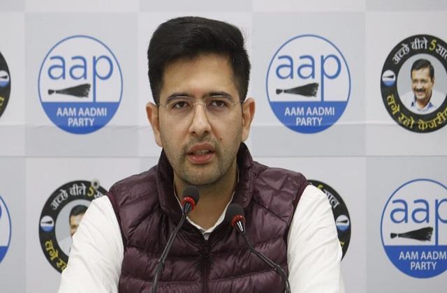 aap shrugged off target said  hindu is not safe under bjp rule