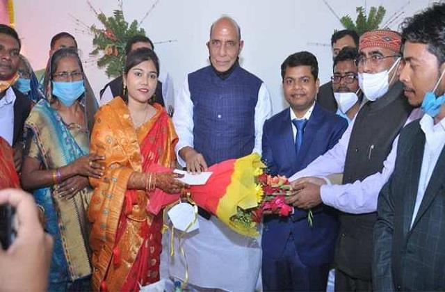 rajnath attended a doctor s wedding