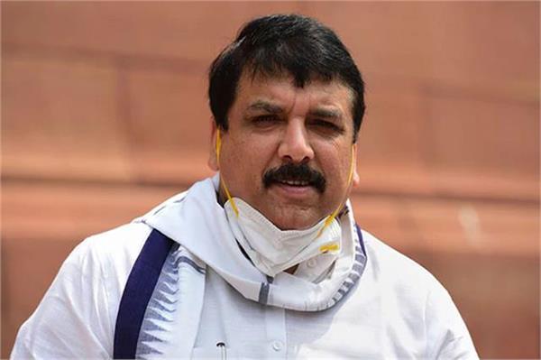 big scam in water life mission yogi sarkar should answer sanjay singh
