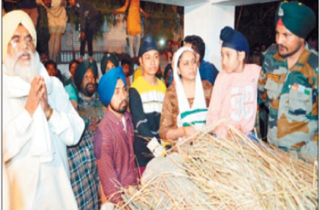 13 year old son offered martyr to father