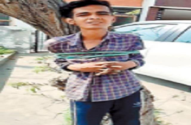 video viral man entering a kothi is doing disgusting work