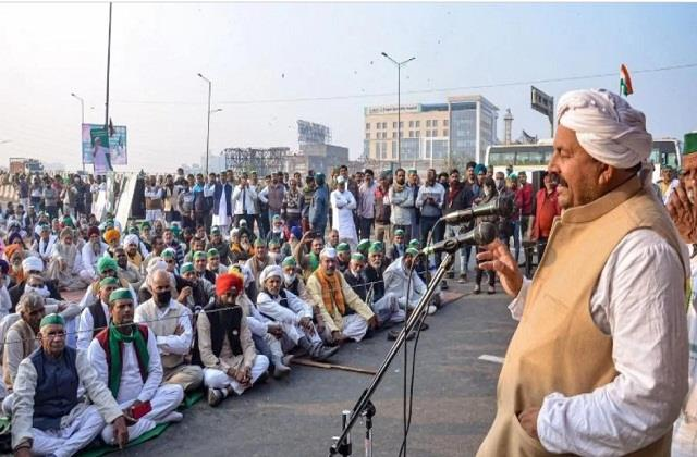 naresh tikait said  farmers protest will run for a long time