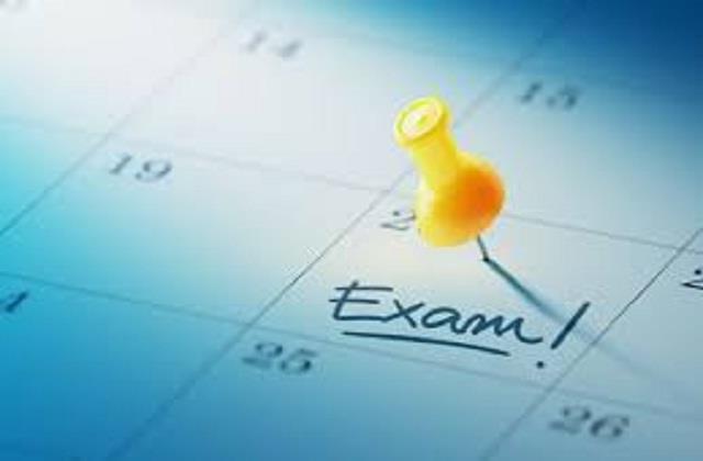 experimental exams begin today