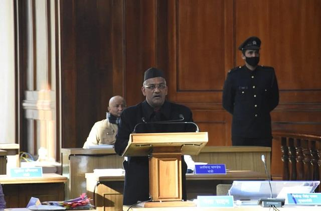 many new announcements of trivendra in the budget speech