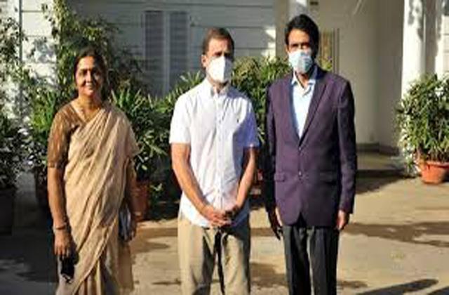 congress leaders met rahul gandhi