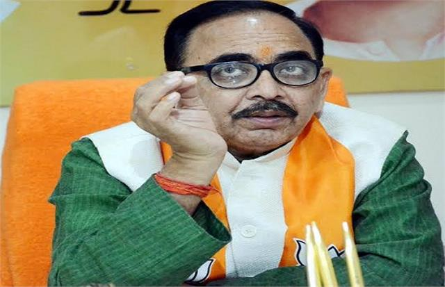 the union minister said the bjp government being formed in bengal