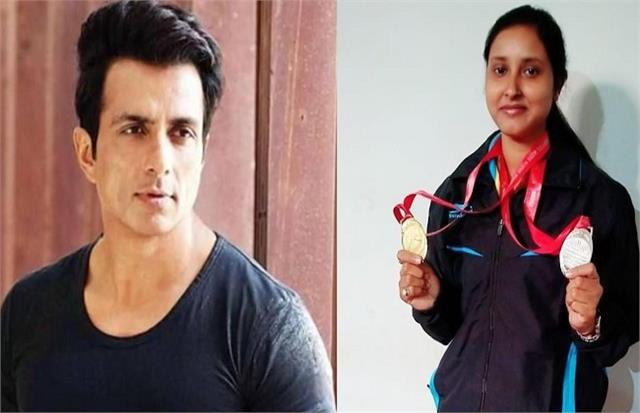 sonu sood came forward to help the national shooter