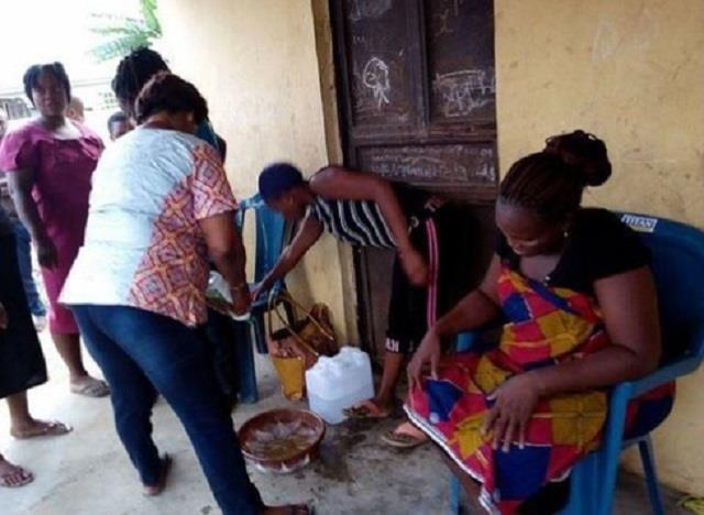 omg woman pregnant for last three years delivers goat see pics