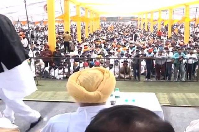 budget session akali dal protest against congress