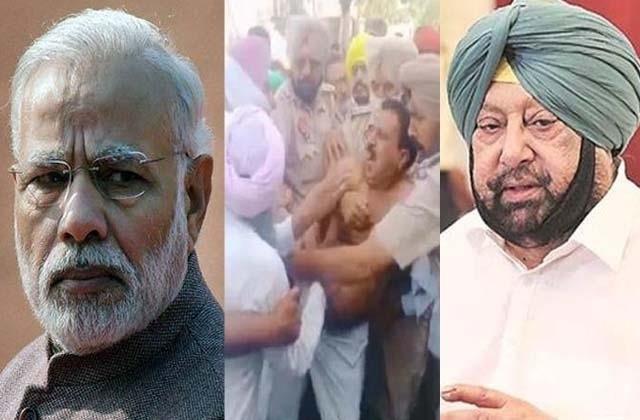 khadki bells up to delhi for attack on bjp mla in punjab