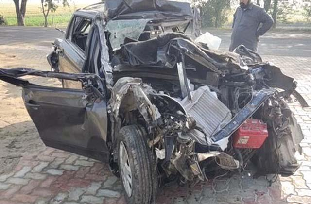 accident returning from mata chintpurni 3 died