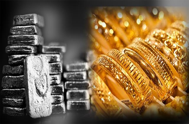 gold and silver prices fall check how many prices have fallen today