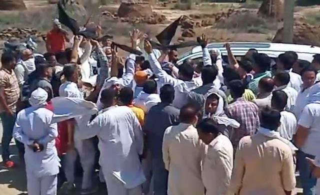 abhay chautala protest in uchana