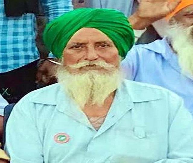 farmer died in singhu border