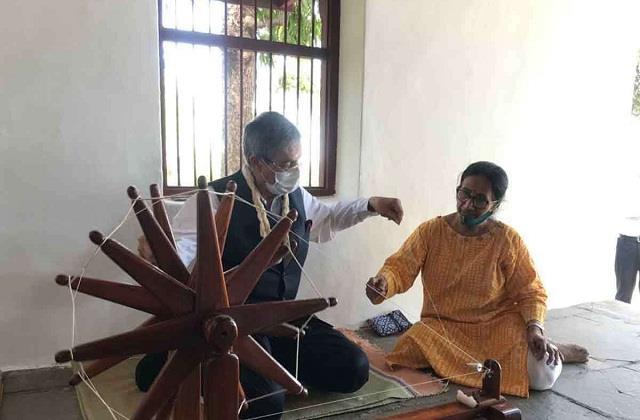 bangladesh high commissioner visits gujarat ahead of pm modi visit to dhaka