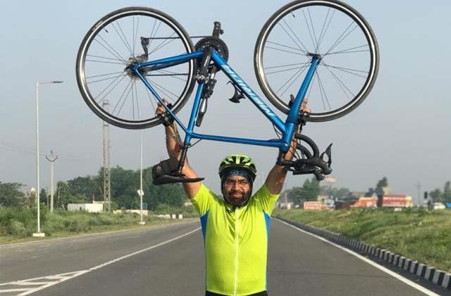 the story of this cyclist