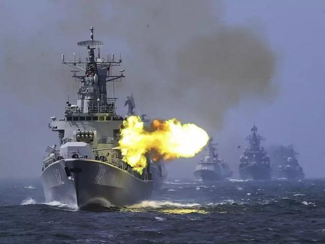 china conducts drill in south china sea us steps up vigil report