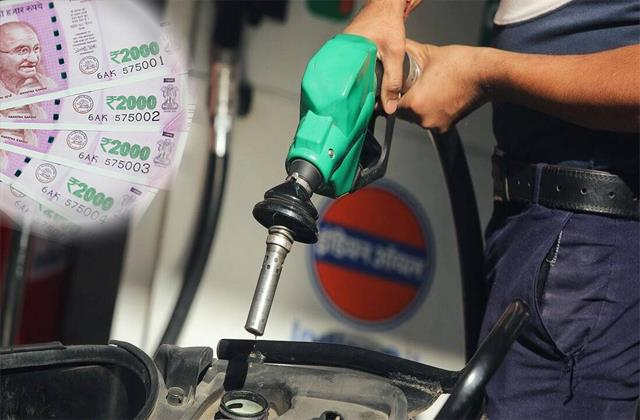 tax collection on petrol and diesel increased by 300 in 6 years